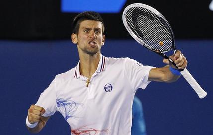 Djokovic s'en sort au mental !