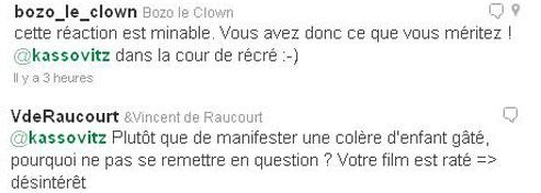 Les tweetos réagissent aux propos de Mathieu Kassovitz