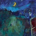 Cranberry Lake, Chagall (1944). Estimation: de 400.000 à 500.000 euros.