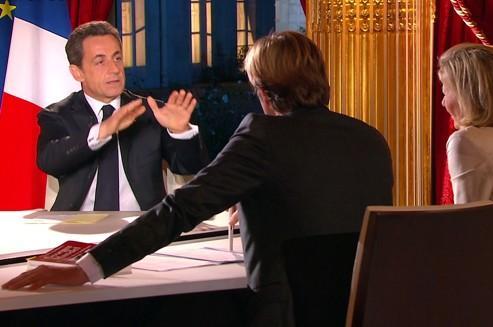 Nicolas Sarkozy bat des records à la télévision