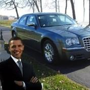 Une voiture d'Obama à 1 million de $ sur eBay