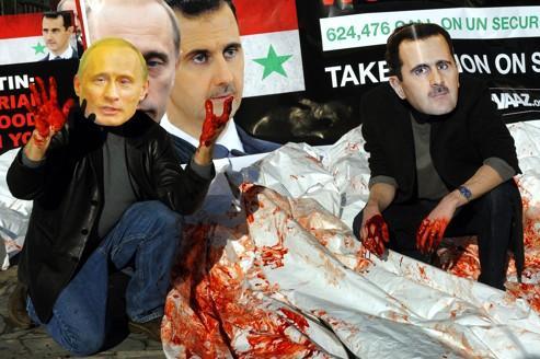 Syrie: forcing à l'ONU pour rallier la Russie