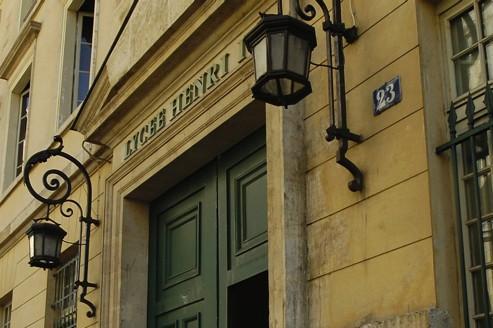 Le lycée Henri IV, un des plus réputés de la capitale.