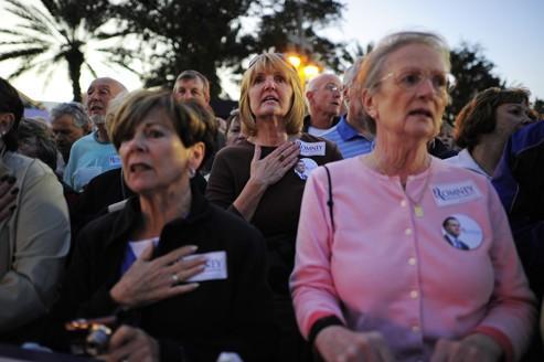 Les retraités de Tampa rêvent d'en finir avec Obama