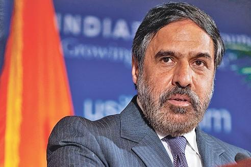 Anand Sharma, ministre indien du Commerce et de l'Industrie.
