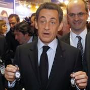 Nicolas Sarkozy défend le «produire en France»