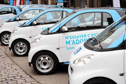 Car2go, nouvel acteur de l'autopartage en France