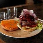 Le burger de Livingstone Steak House