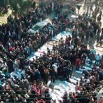Samedi ont eu lieu à Homs les funérailles des victimes des bombardements.