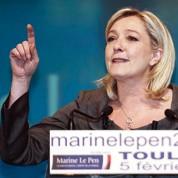 Marine Le Pen lance un appel aux maires