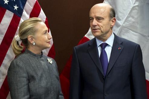 Le ministre français des Affaires étrangères et son homologue américaine lors d'un Conseil de sécurité sur la Syrie, le 31 janvier dernier.