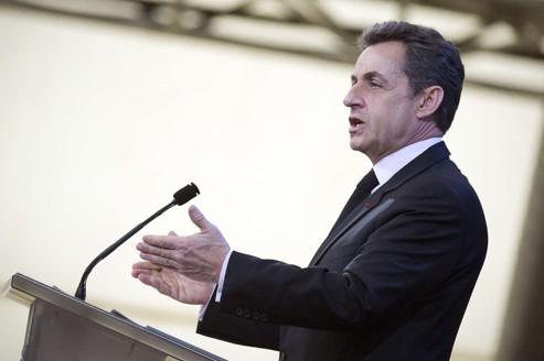 Nicolas Sarkozy à Lavaur.