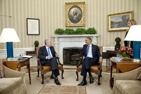 Obama adoube Mario Monti
