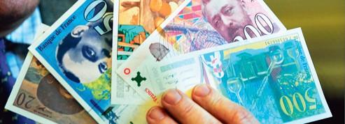 Le billet en francs vit ses derniers jours