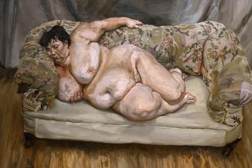 Lucian Freud, un portraitiste sur le divan