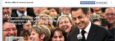 Nicolas Sarkozy dresse un premier bilan de son quinquennat sur Facebook
