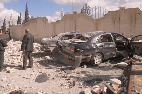 les appareils russes amenés en syrie