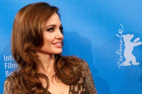Angelina Jolie au festival international de Berlin pour la diffusion en séance spéciale de son film, Au pays du sang et du miel, samedi.