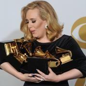 Adele, grande gagnante des Grammy Awards