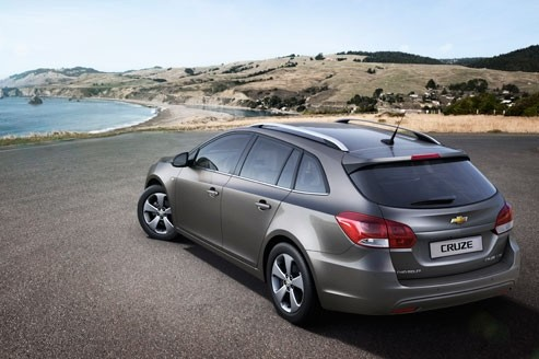 La Chevrolet Cruze fait le break