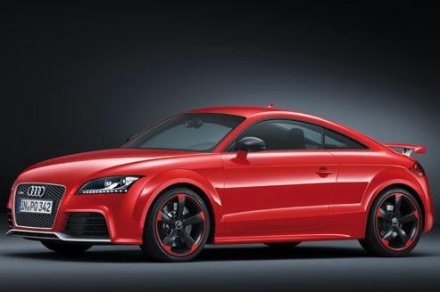 La TT RS Plus sera commercialisée dans le courant de l'année 2012 en coupé et en cabriolet. (DR)