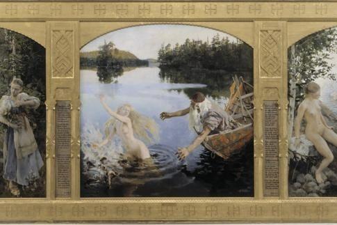 Gallen-Kallela et les mythes du Nord