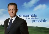 L'affiche de campagne de Nicolas Sarkozy en 2007.