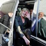 Après le père, Thierry Légier assure désormais la sécurité de Marine Le Pen. Crédits photo : Christophe Morin / P3
