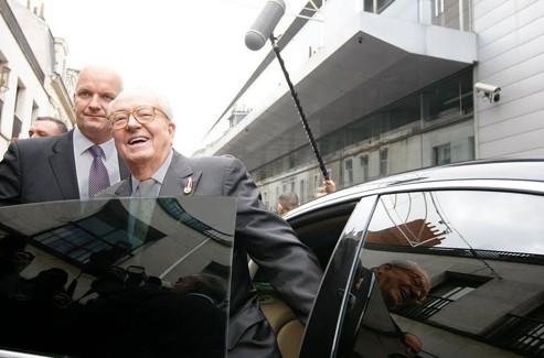 Thierry Légier a été garde du corps de Jean-Marie Le Pen durant 20 ans. Crédits photo : Sébastien Soriano / Le Figaro