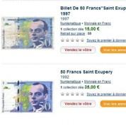 Les francs s'arrachent sur Internet