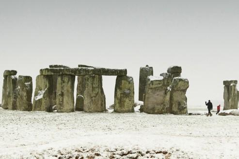 Les mégalithes de Stonehenge dans la plaine de Salisbury, dans le sud de l'Angleterre. Crédits photo: AP/Chris Ison