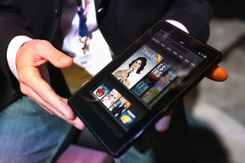 L'Amazon Kindle Fire réussit une entrée fracassante