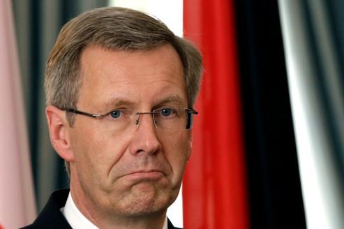 Le président allemand, Christian Wulff, en septembre 2010.