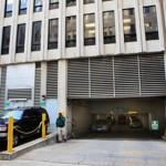 Le parking où Amine El Khalifi a été arrêté vendredi.