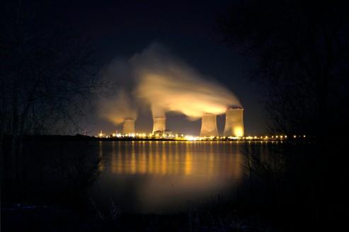 La centrale nucléaire de Cattenom, près de Thionville, le 8 février.