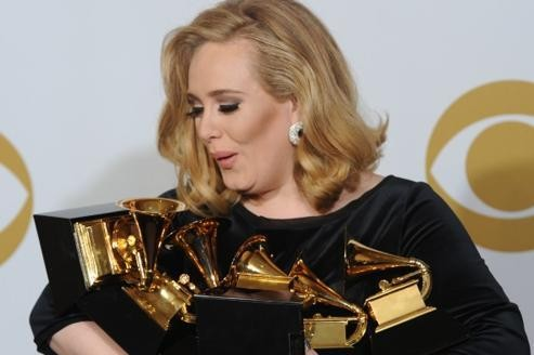 Adele part favorite pourles Brit Awards 2012