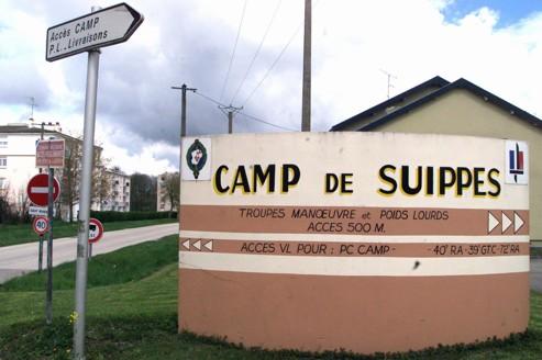 Suippes campamento militar, en el Marne, en el que confluyen las bombas tóxicas.