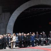 Inauguration du tunnel sous le Mont-Blanc
