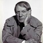 Pablo Picasso en 1933.