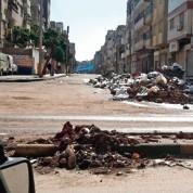 La longue agonie de Homs, sous les bombes