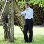 François Bayrou à Bordères en 2007.