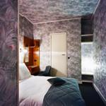 Une des 51 chambres de l' hôtel Le Berger.