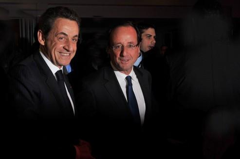 Nicolas Sarkozy et François Hollande ne bénéficient pas du même traitement par la presse financière anglo-saxonne.
