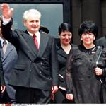 Le Serbe, Sobodan Milosevic et sa femme Mirjana. Ils s'étaient connus à l'université de Belgrade.