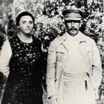 Joseph Staline et sa seconde épouse, Nadia Allilouyeva. Celle-ci, comme la première, eut une vie tragique et brève.