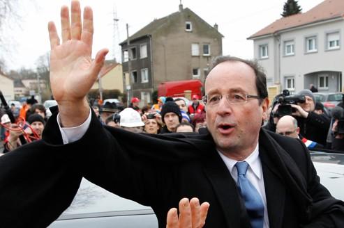 Hollande s'engage face aux salariés de Florange