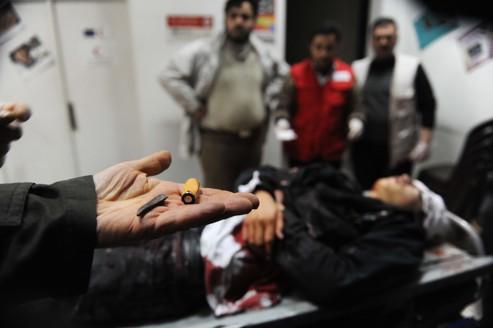L'opposition manifeste sa «solidarité envers Homs»