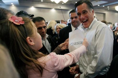 Mitt Romney courtise les Tea Party du Michigan