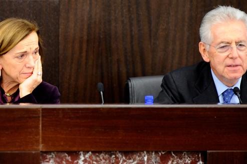 Italie : Monti s'attaque au marché du travail