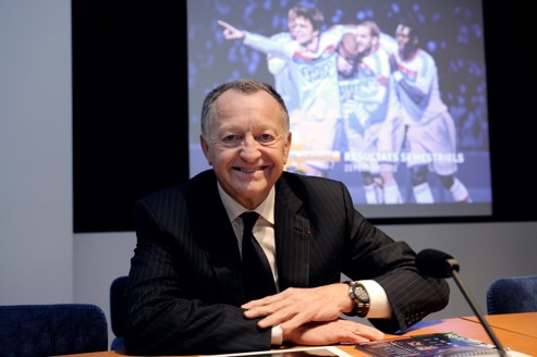 Aulas: «Grâce au futur stade, Lyon pourra rivaliser»